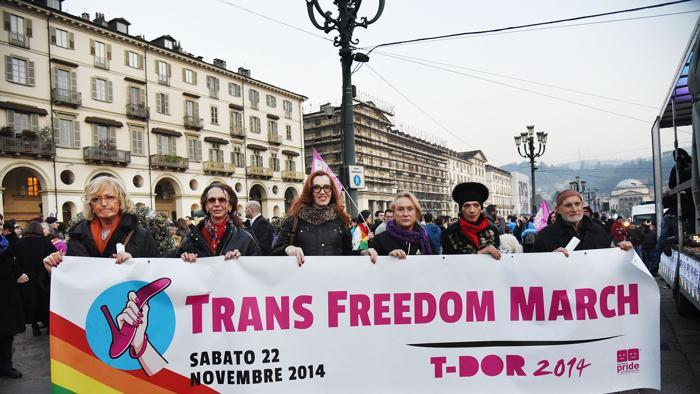 trans freedom march LaStampa