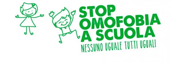 stop omofobia scuola