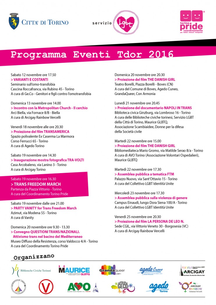 programma tdor 2016