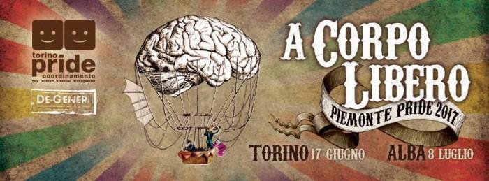 Piemonte Pride 2017 a Torino e Alba @ Torino il 17/6  e Alba l'8/7 | Torino | Piemonte | Italia