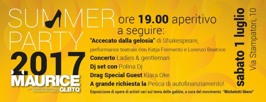Summer party 2017 @ Maurice | Torino | Piemonte | Italia